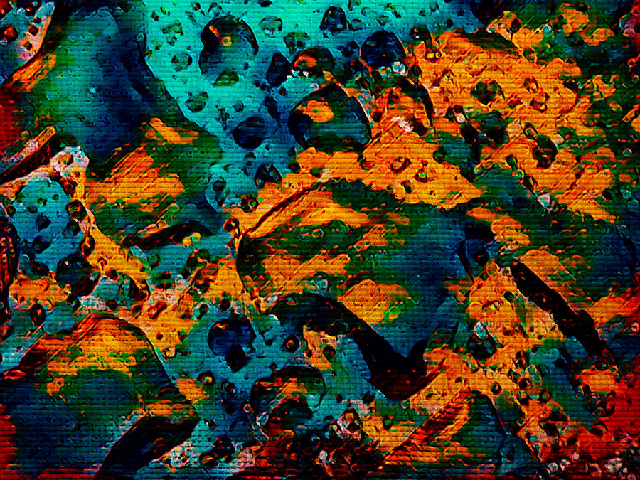 Acid Rain Digital Art