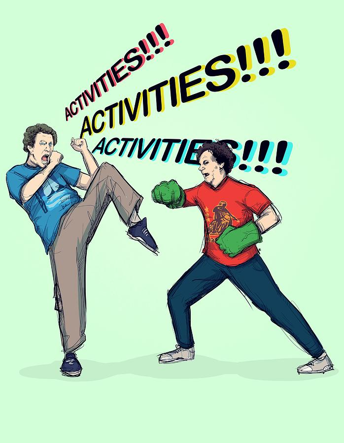 Step Brothers Drawing - Activities by Ludwig Van Bacon