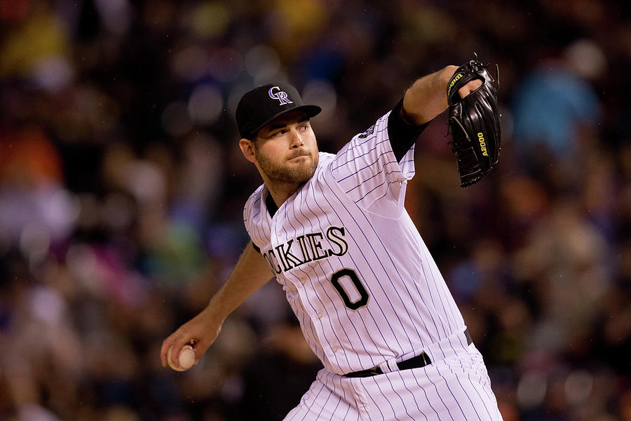 Adam Ottavino Photograph by Justin Edmonds