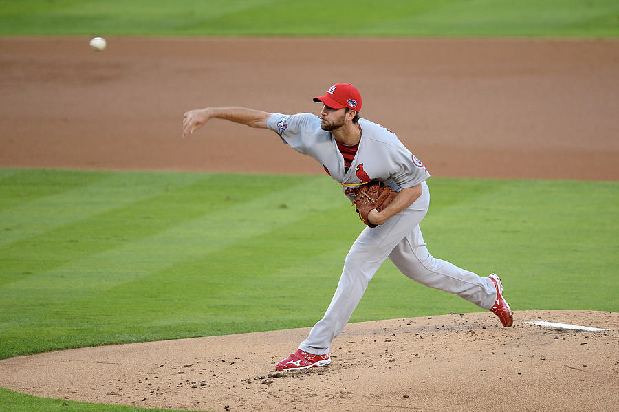 Adam Wainwright Photograph by Harry How