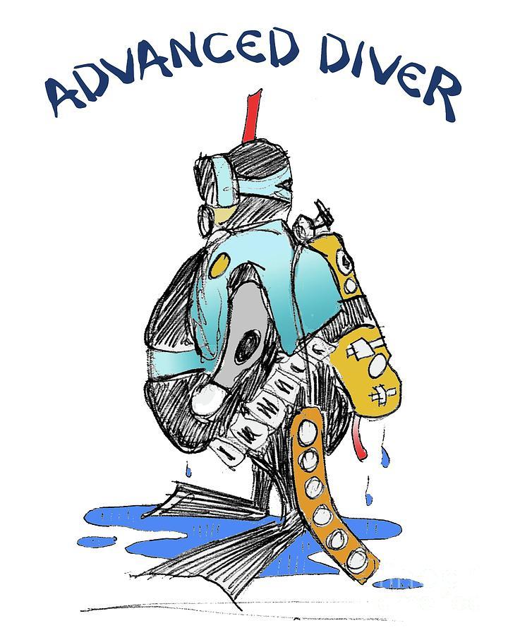 ADVANCED SCUBA DIVER by Art MacKay