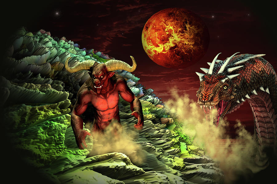 Adventure To Hell Digital Art