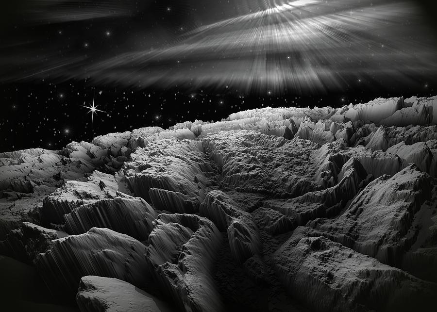 Adventure To Morning Star Aurora Digital Art