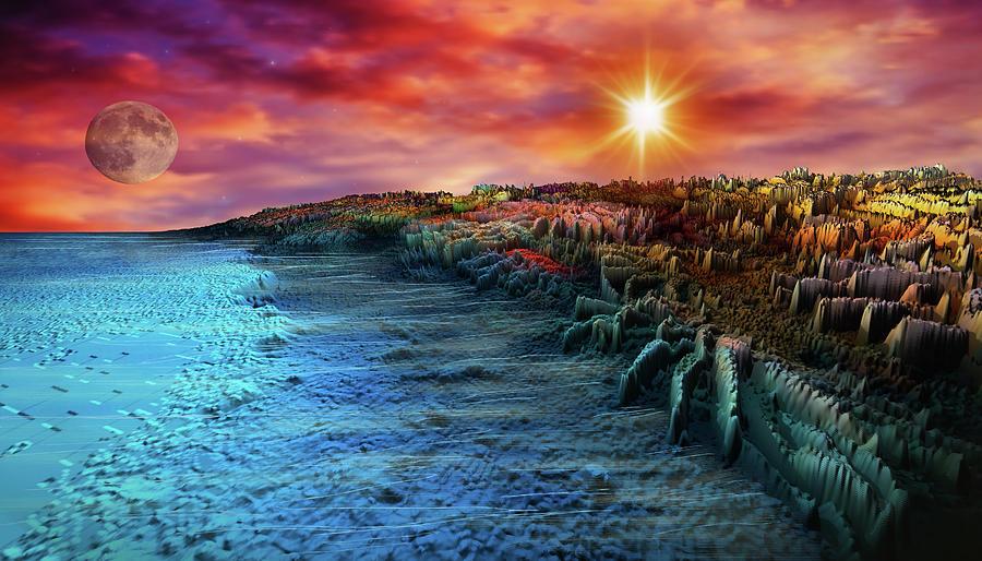 Adventure To Paradise Island Digital Art