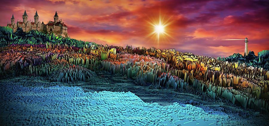 Adventure To Paradise Kingdom Digital Art