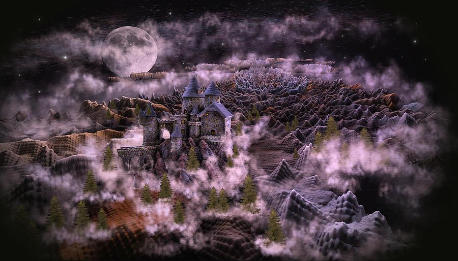 Adventures In Fantasy Land Digital Art