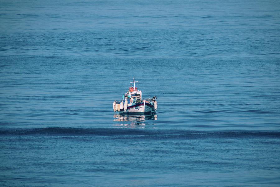 Aegean Photograph by Vicky Markolefa