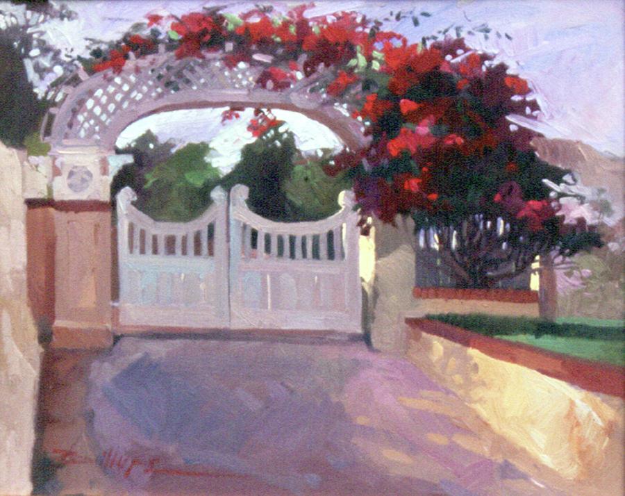 Catalina Island Painting - Afternoon Splendor by Betty Jean Billups
