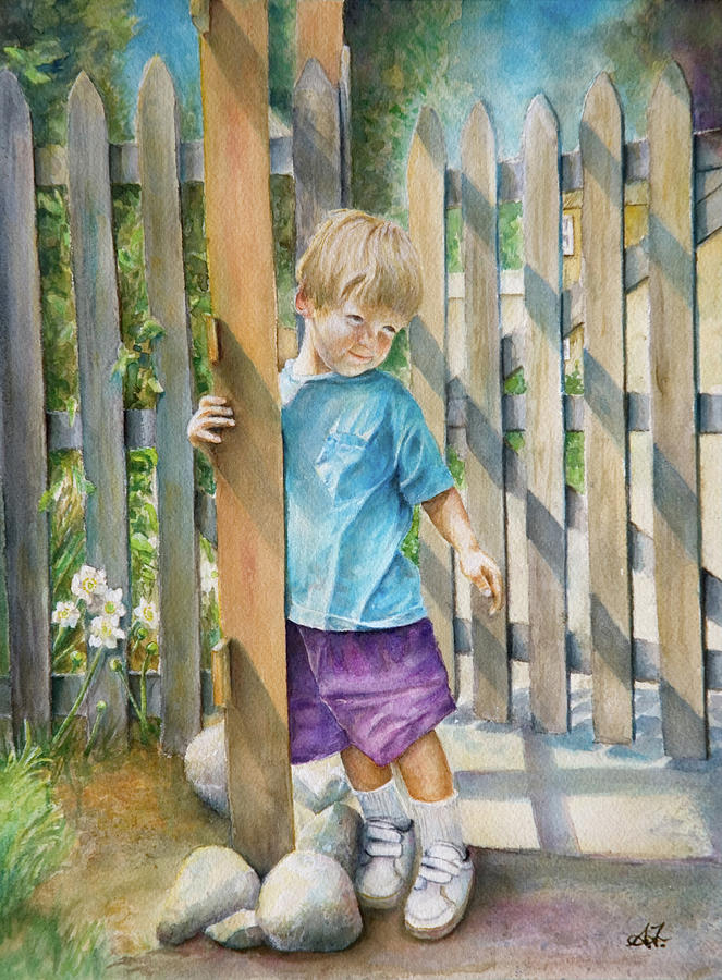 Age Of Innocence by Arthur Fix