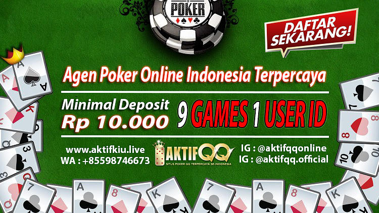 Agen Poker Online Indonesia Terpercaya Mixed Media By Aktifqq