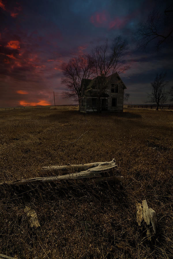 Abandoned Photograph - Agony by Aaron J Groen