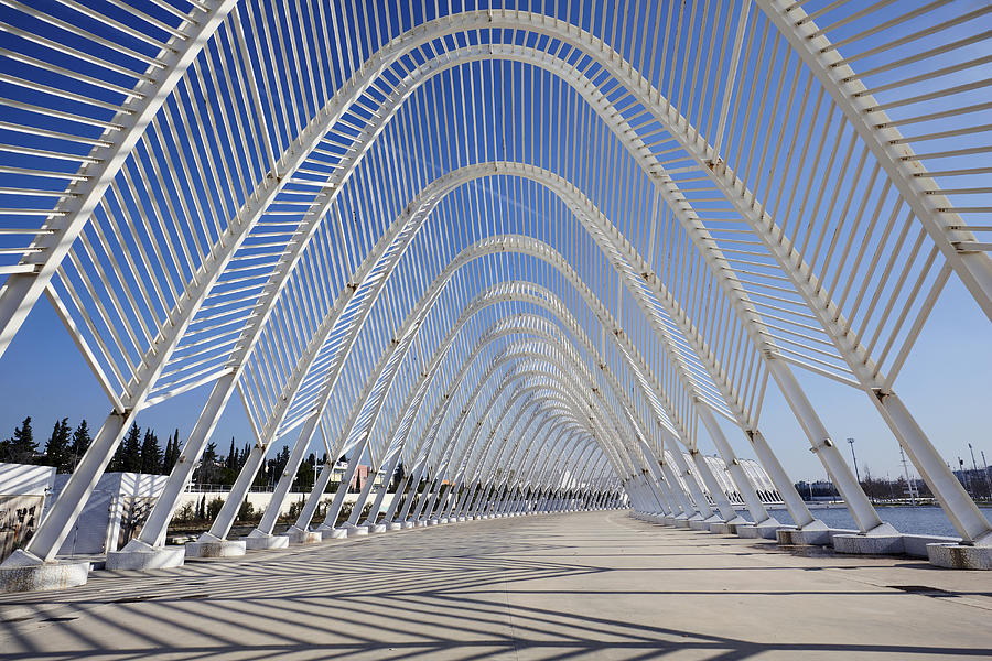Agora of the Athens Olympic Sports Complex Photograph by Allan Baxter