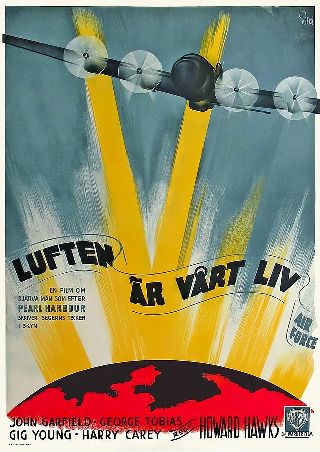 air Force - 1943 Mixed Media