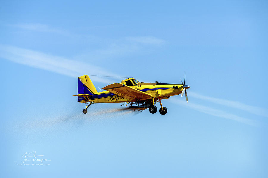 Air Tractor Photograph - Air Tractor by Jim Thompson