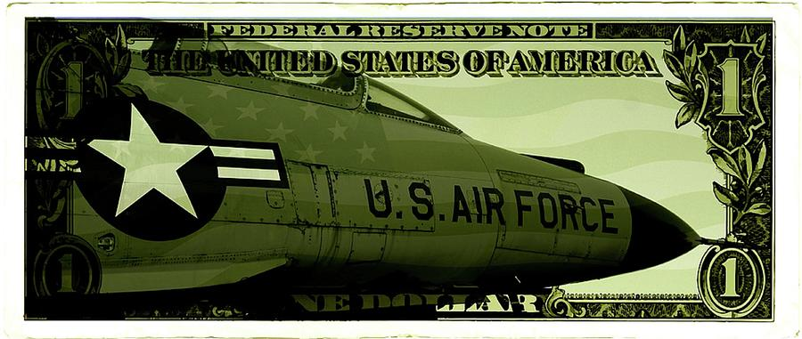 Airforce One Mixed Media