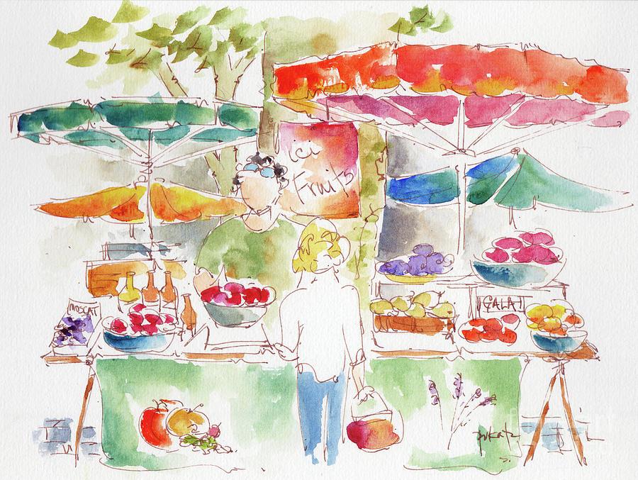 Aix En Provence Market by Pat Katz
