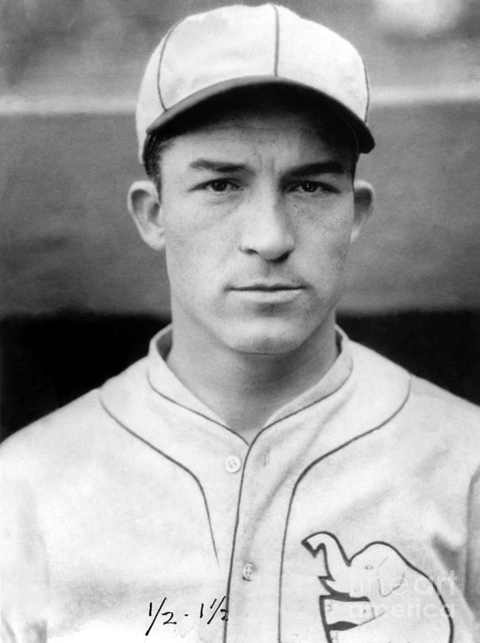 Al Simmons Photograph by National Baseball Hall Of Fame Library