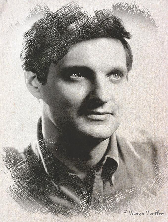 Alan Alda Sketch Drawing