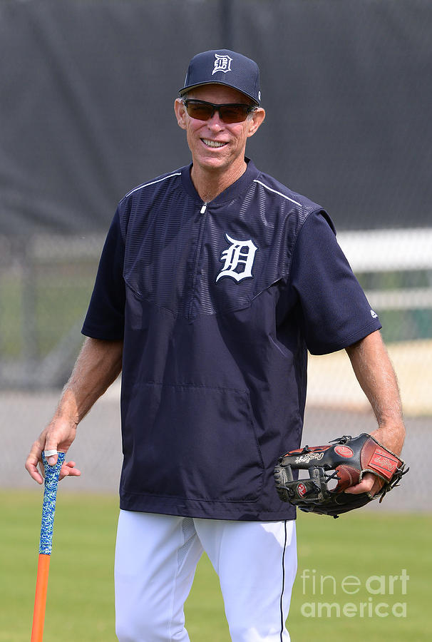 Alan Trammell Photograph by Mark Cunningham