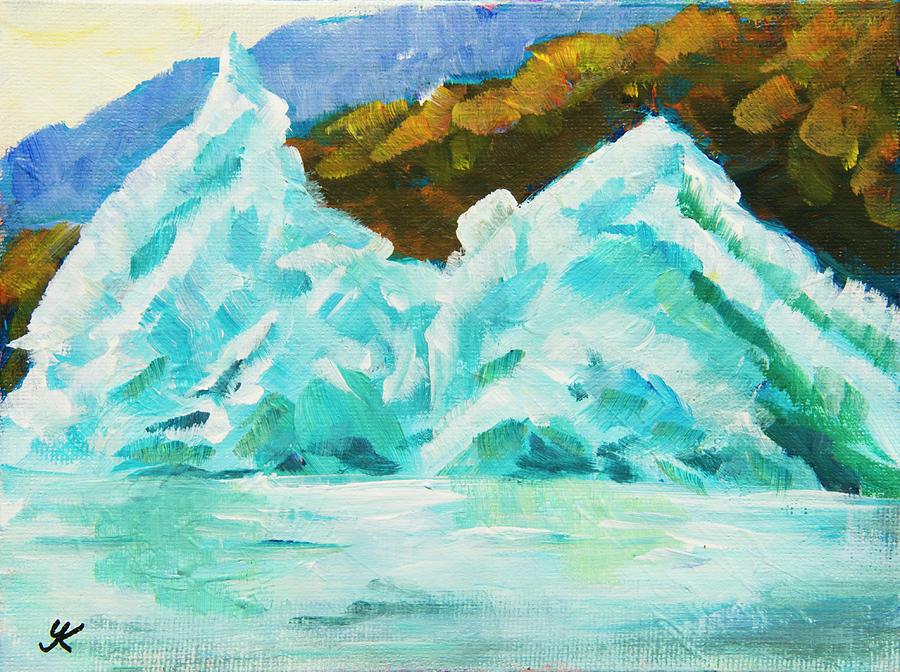 Alaska Iceberg by Yulia Kazansky
