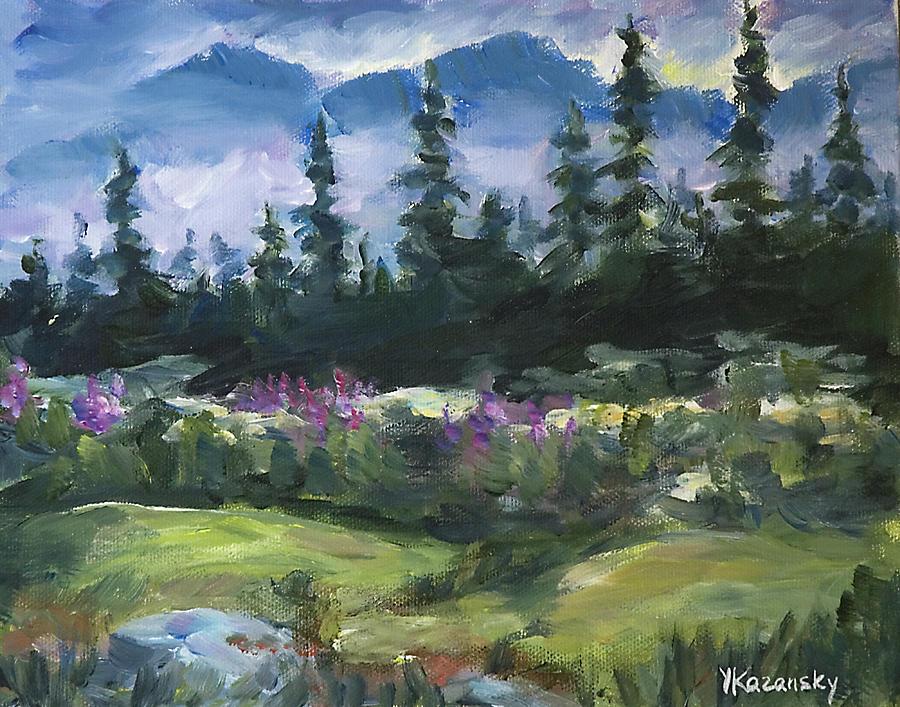 Alaska Woods near Homer by Yulia Kazansky