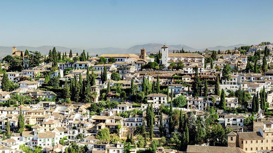 Albaicin from Alhambra 03 by Weston Westmoreland