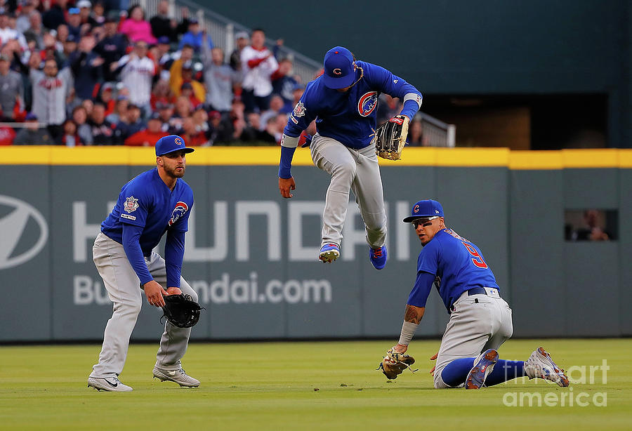 Albert Almora And Javier Baez Photograph by Kevin C.  Cox