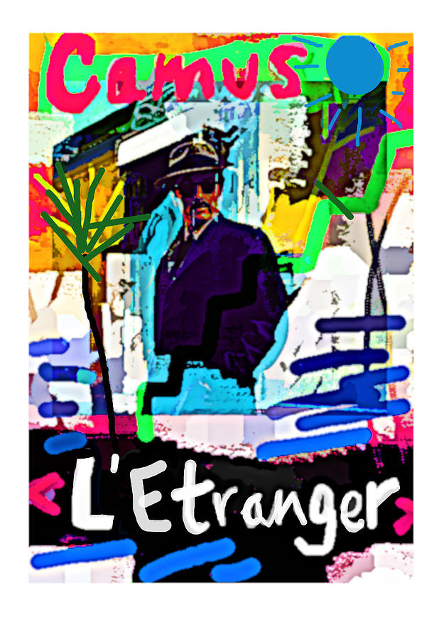 Albert Camus The Stranger A C poster  by Paul Sutcliffe
