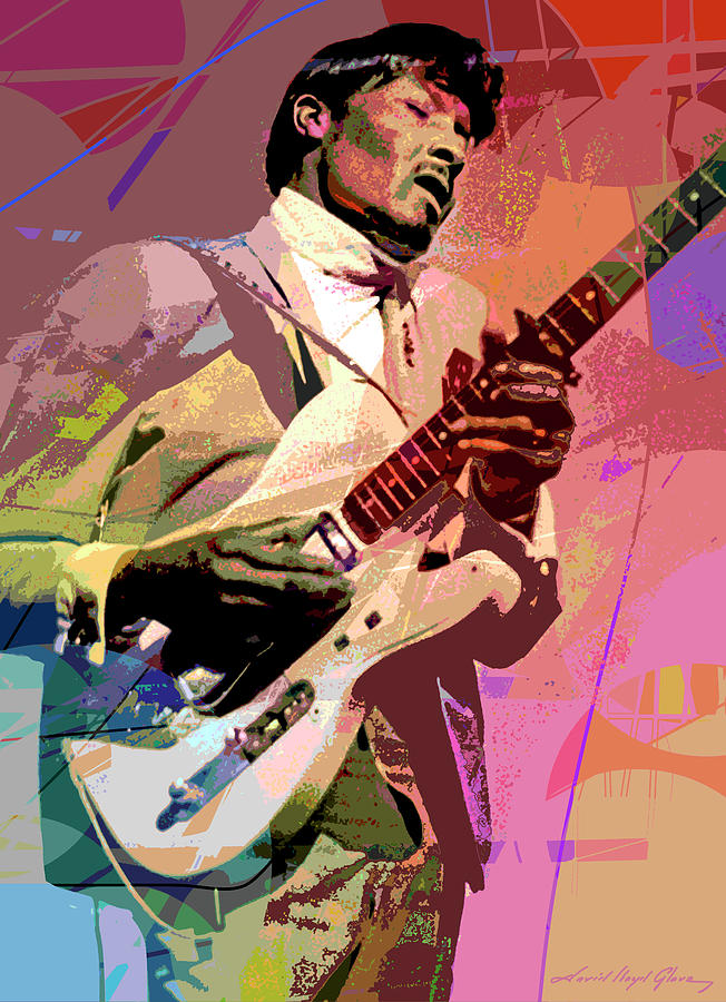 Albert Collins Frosty Painting