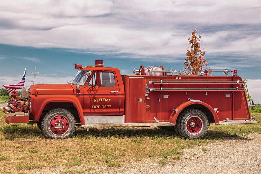 Albert Fire Department by Lynn Sprowl