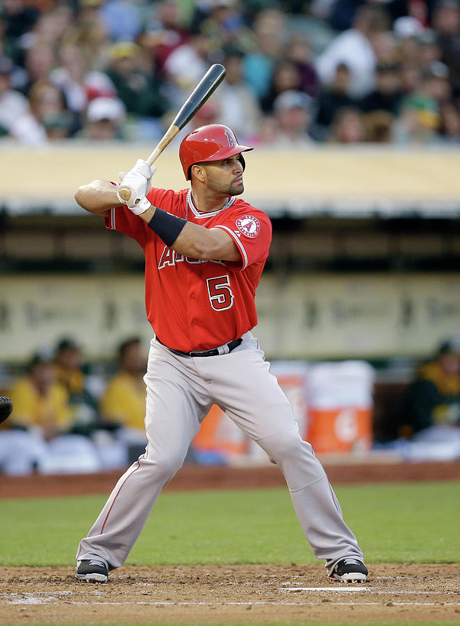 Albert Pujols Photograph by Ezra Shaw