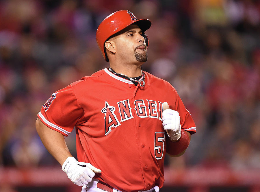 Albert Pujols Photograph by Harry How