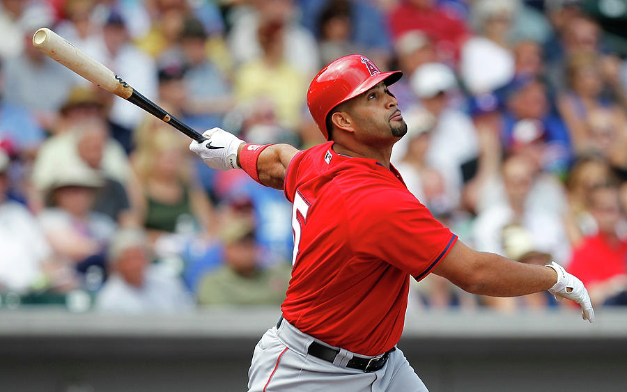Albert Pujols Photograph by Sarah Crabill