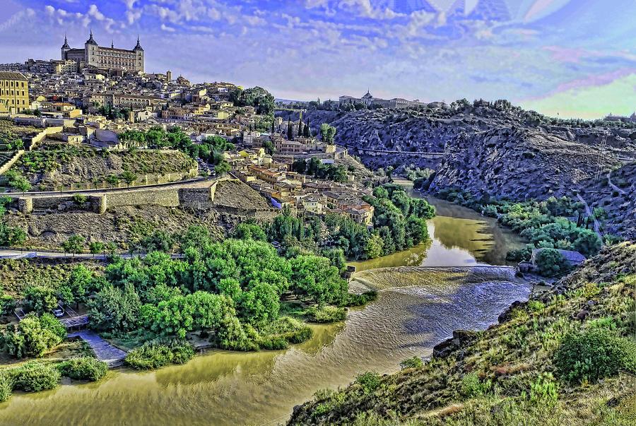 Alcazar # 2 - Toledo Spain by Allen Beatty