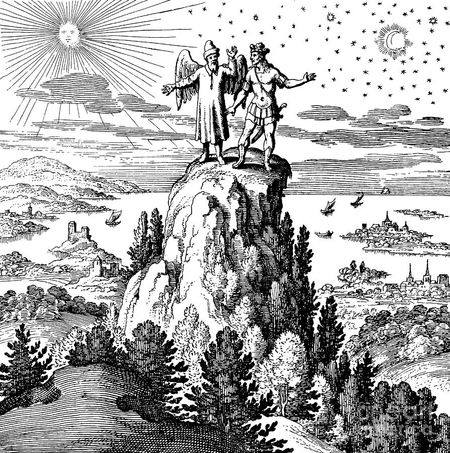 Alchemical Illustration Drawing
