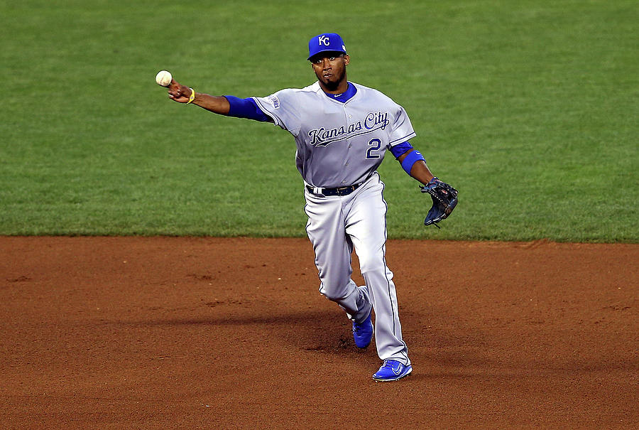 Alcides Escobar Photograph by Elsa