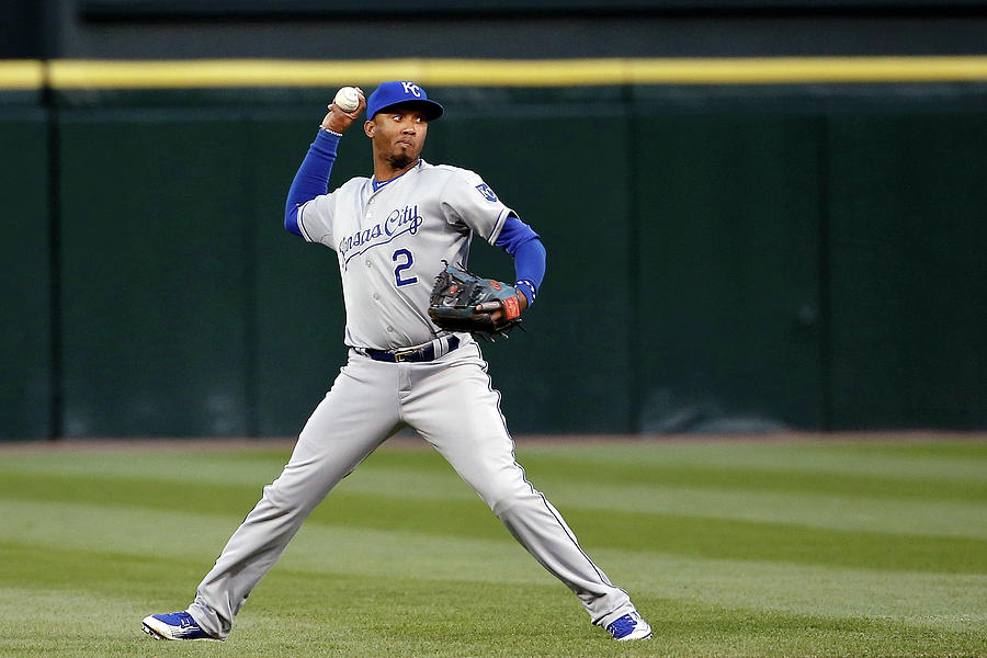 Alcides Escobar Photograph by Jon Durr