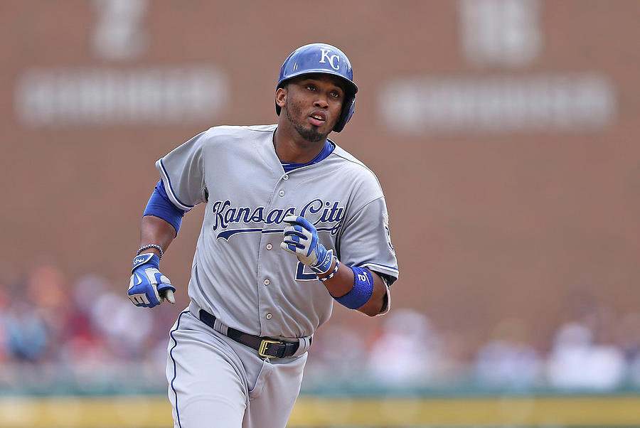 Alcides Escobar Photograph by Leon Halip