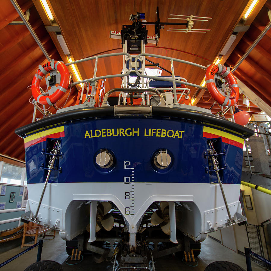 Lifeboat Photograph - Aldeburgh Lifeboat by Steev Stamford
