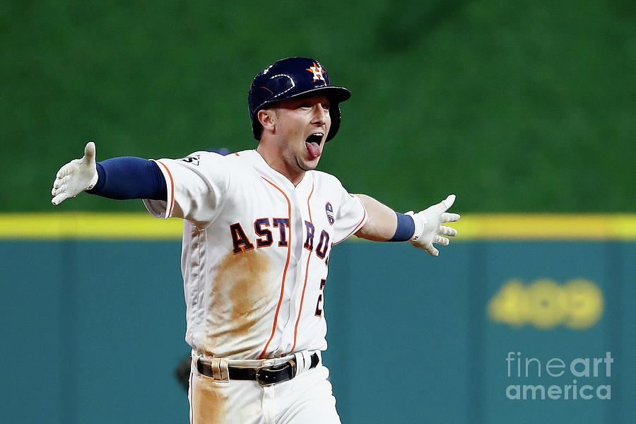 Alex Bregman Photograph by Jamie Squire