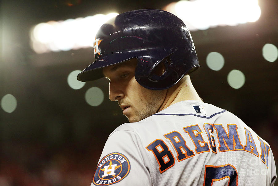 Alex Bregman Photograph by Patrick Smith