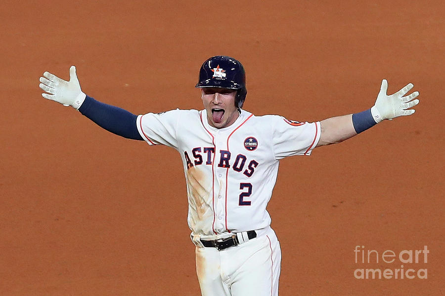 Alex Bregman Photograph by Tom Pennington