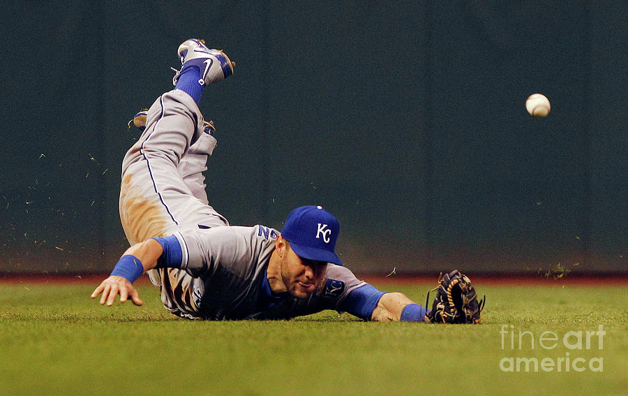 Alex Gordon And Jason Kipnis Photograph by David Maxwell