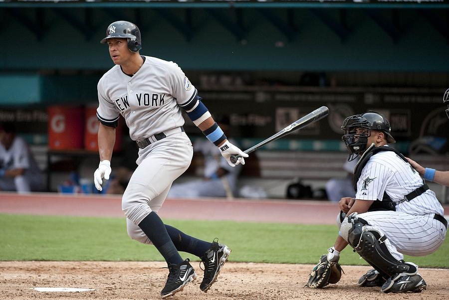 Alex Rodriguez Photograph by Ronald C. Modra/sports Imagery