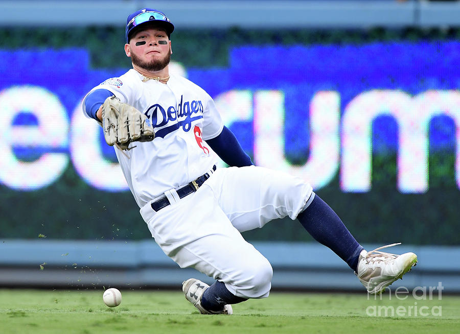 Alex Verdugo And Amed Rosario Photograph by Harry How