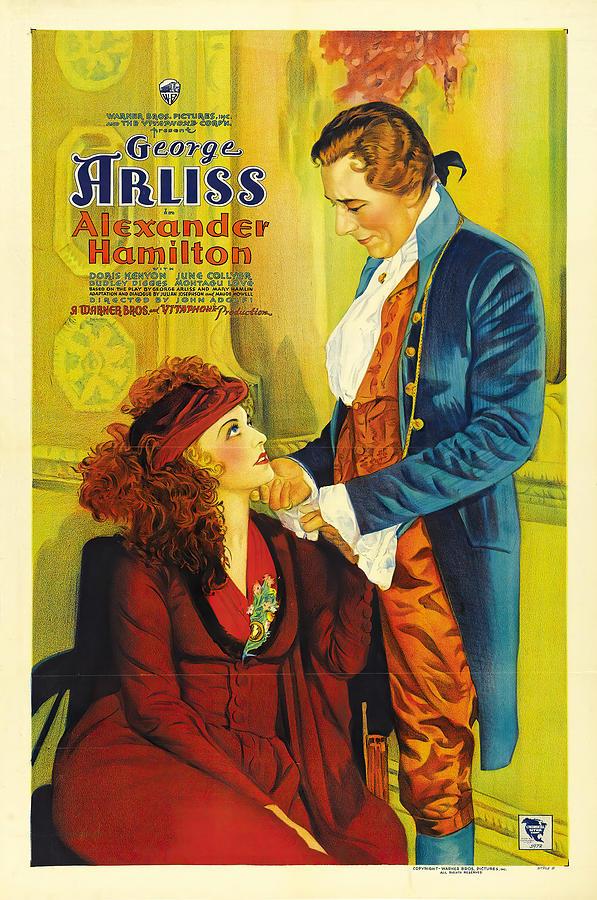 alexander Hamilton, With George Arliss, 1931 Mixed Media