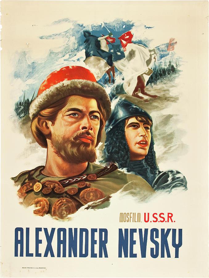 alexander Nevsky, 1938 Mixed Media