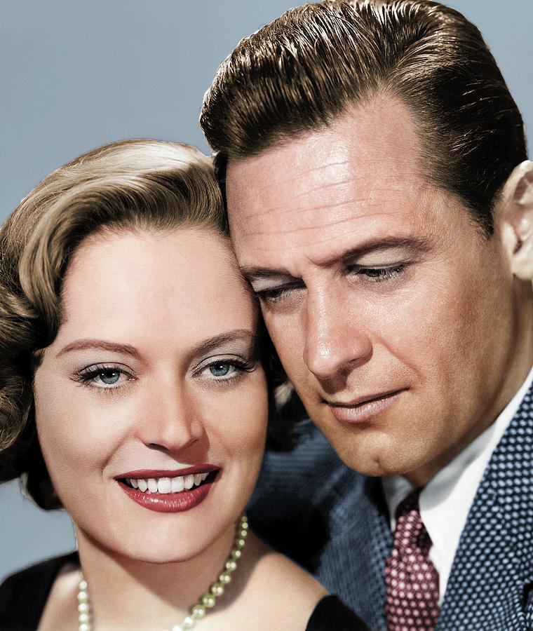 Alexis Smith And William Holden Photograph