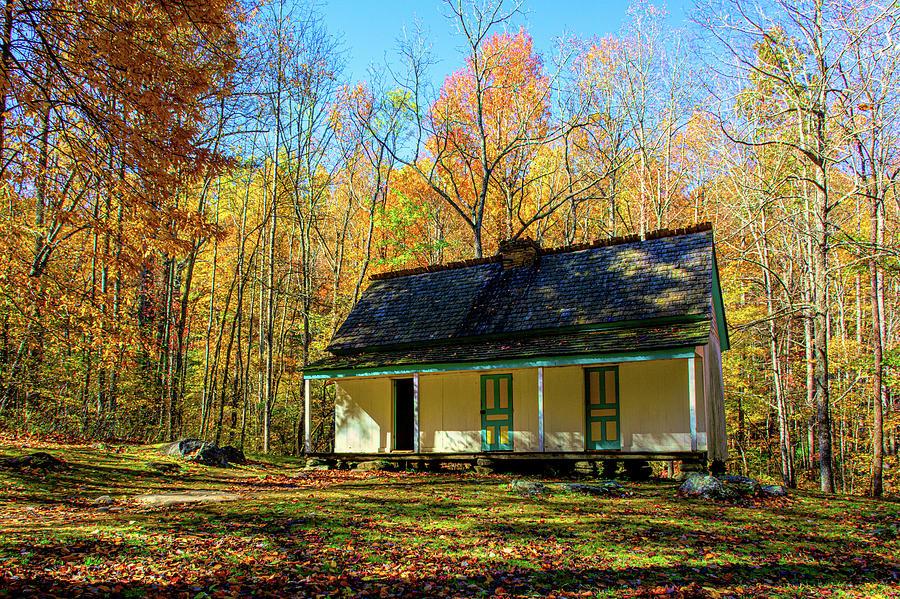 Alfred Reagan House Smoky Mountains by Douglas Wielfaert