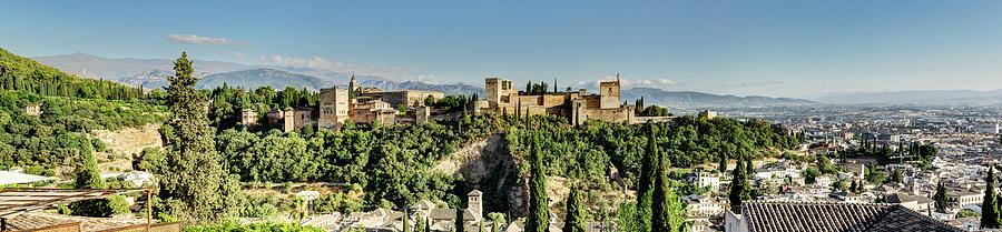 Alhambra and Granada by Weston Westmoreland